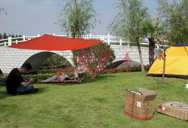 开沙岛旅游度假区露营烧烤营地